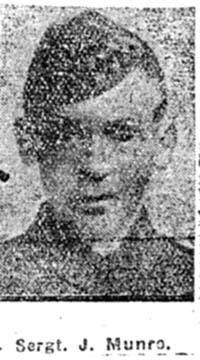 Munro John, Sgt, Evanton
