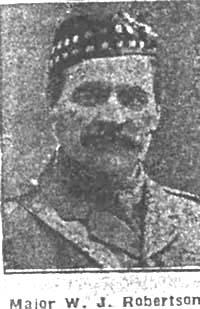 Robertson William John, Major, Fearn