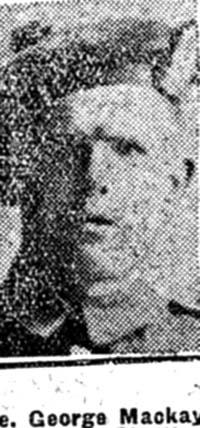 Mackay George, Pte, Fearn