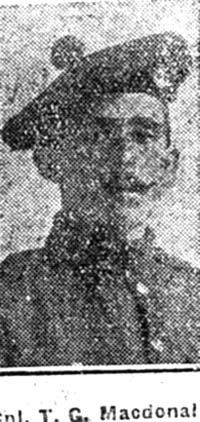 Macdonald Thomas G, Corp, Fortrose