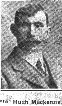 Mackenzie Hugh, Pte, Garve
