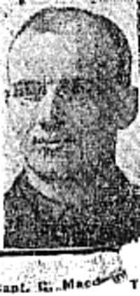 Macdonald George, Capt, London Ex Invergordon