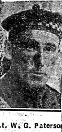 Paterson William G, Lieut, Invergordon