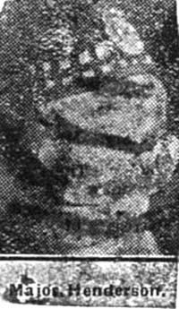 Henderson, Major  Invergordon