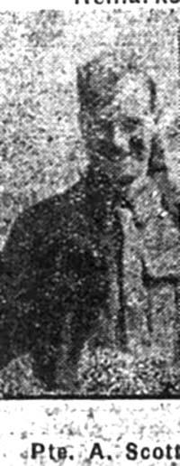 Scott Arthur, Pte, Invergordon