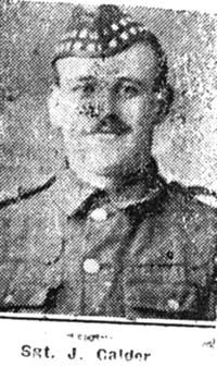 Calder John, Sgt, Invergordon