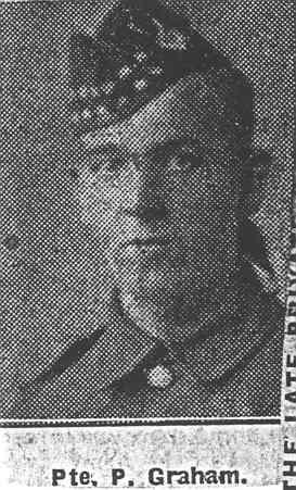 Graham Patrick H, Pte, Invergordon