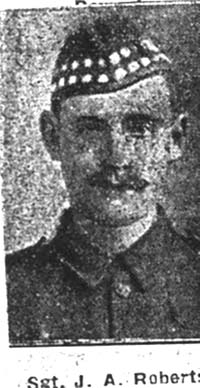 Robertson James A, CSM, Kildary