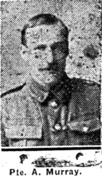 Murray Alexander, Pte, Kildary