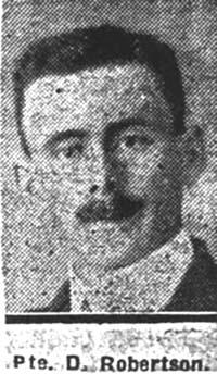 Robertson Donald, Pte, Kildary