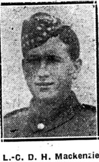 Mackenzie Donald H, L Corp, Kilmuir