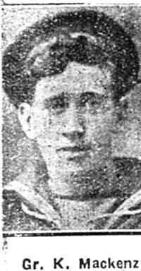 Mackenzie Kenneth, Gunner, Lochbroom