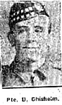 Chisholm D, Pte, Marybank
