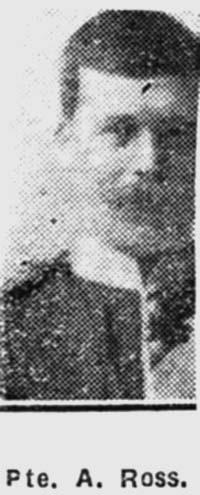 Ross Andrew F, Gunner, Maryburgh