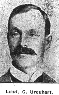 Urquhart George, Lieut, Australia ex Maryburgh