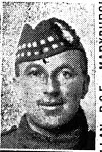 Allan Alexander, Pte, Maryburgh