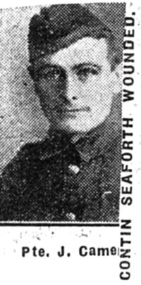 Campbell John A, Pte, Maryburgh
