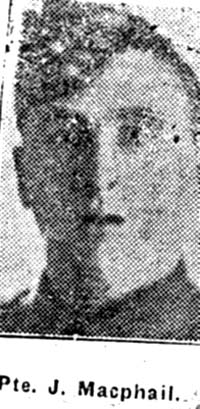 Macphail John, Pte, Brahan