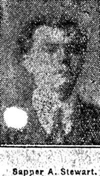 Stewart Angus, Sapper, Maryburgh
