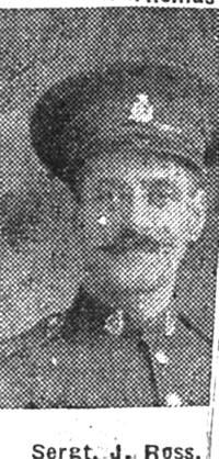 Ross John, Sgt, Maryburgh