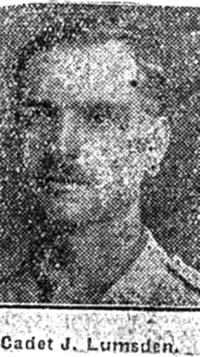Lumsden J, Cadet, Muir Of Ord