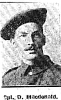 Macdonald Duncan, Corp, Muir Of Ord