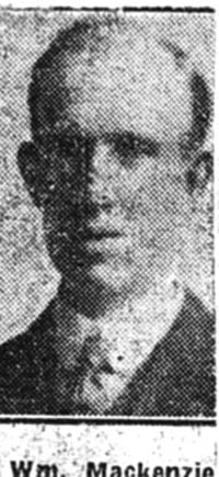 Mackenzie William, Dockyards, Muir Of Ord