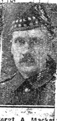 Mackenzie Alexander, L Sgt, Muir Of Ord
