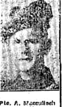 Macculloch Angus, Pte, Stirling Ex Muir Of Ord