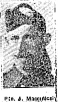 Macculloch John, Pte, Muir Of Ord