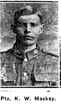 Mackay K W, Pte, Banff Ex Muir Of Ord