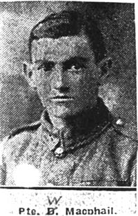 Macphail William, Pte, Muir Of Ord