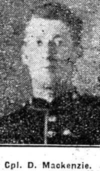 Mackenzie Donald, Sgt, Muir Of Ord