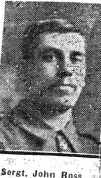 Ross John, Sgt, Muir Of Ord