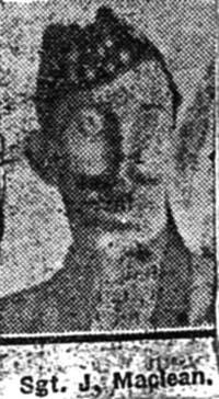 Maclean John, Sgt, Muir Of Ord