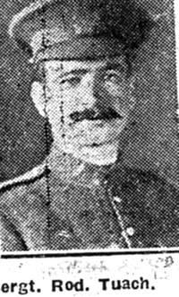 Tuach Roderick, Sgt, Canada Ex Muir Of Ord