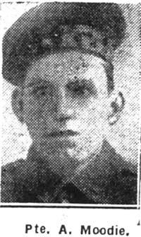 Moodie Andrew, Pte, Munlochy