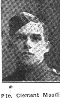 Moodie Clement T, Pte, Munlochy