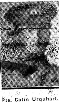 Urquhart Colin, Pte, Munlochy