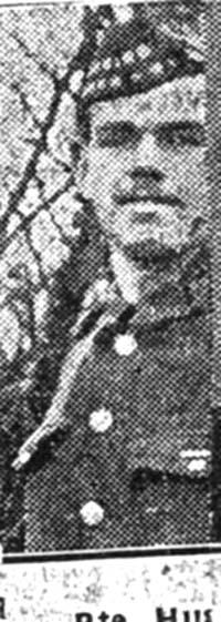 Ross Hugh, Pte, Munlochy