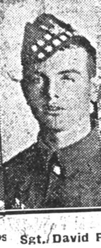 Ross David, Sgt, Munlochy