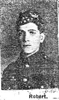 Mackenzie Robert, Pte, Saltburn