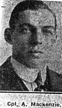 Mackenzie Alick, Corp, Scorraig