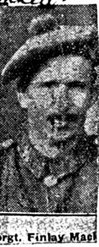 Mackenzie Finlay, Sgt, Scorraig