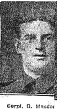 Macdonald Duncan, Corp, Strathconon