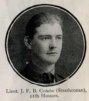 Combe John F B, Lieut, Strathconon
