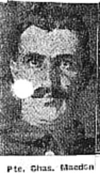 Macdonald Charles, Pte, Strathconon
