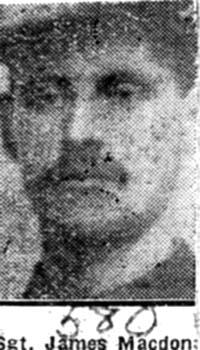 Macdonald James, Sgt, Strathconon