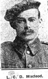 Macleod D, L Corp, Strathpeffer