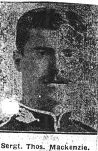 Mackenzie Thomas, Sgt, Strathpeffer